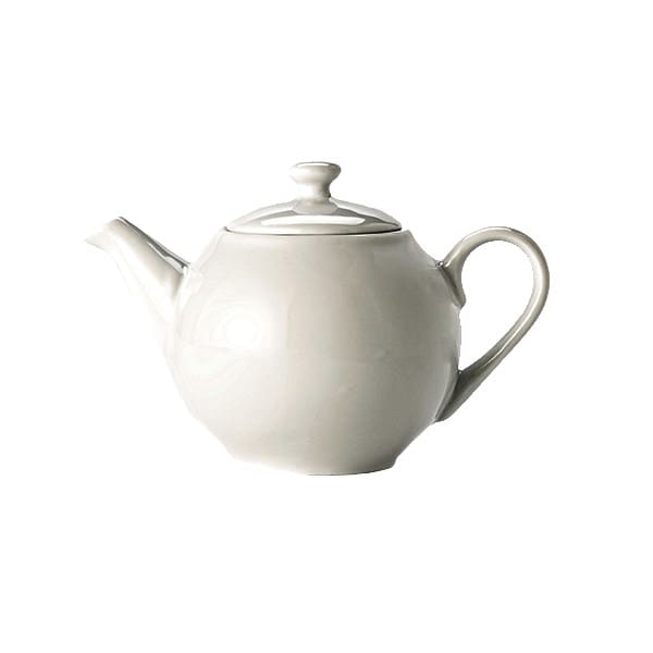 Syracuse China 999333040 15-oz Constellation Teapot - Porcelain, Lunar White