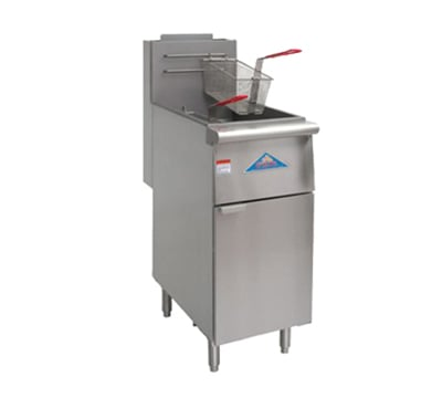 Comstock-Castle EFS14-G Gas Fryer - (1) 35 lb Vat, Floor Model, NG