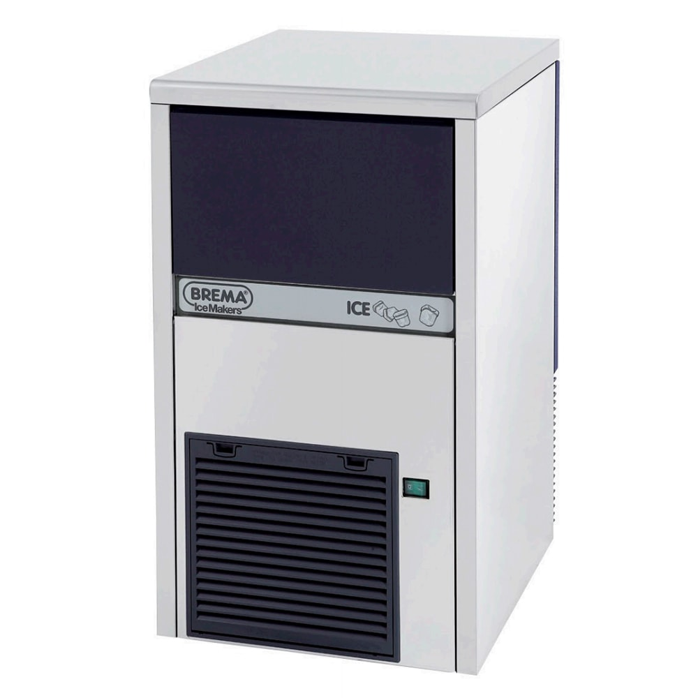 Eurodib CB249A Undercounter Full Cube Ice Maker - 62 lbs/day, Air Cooled, 120v