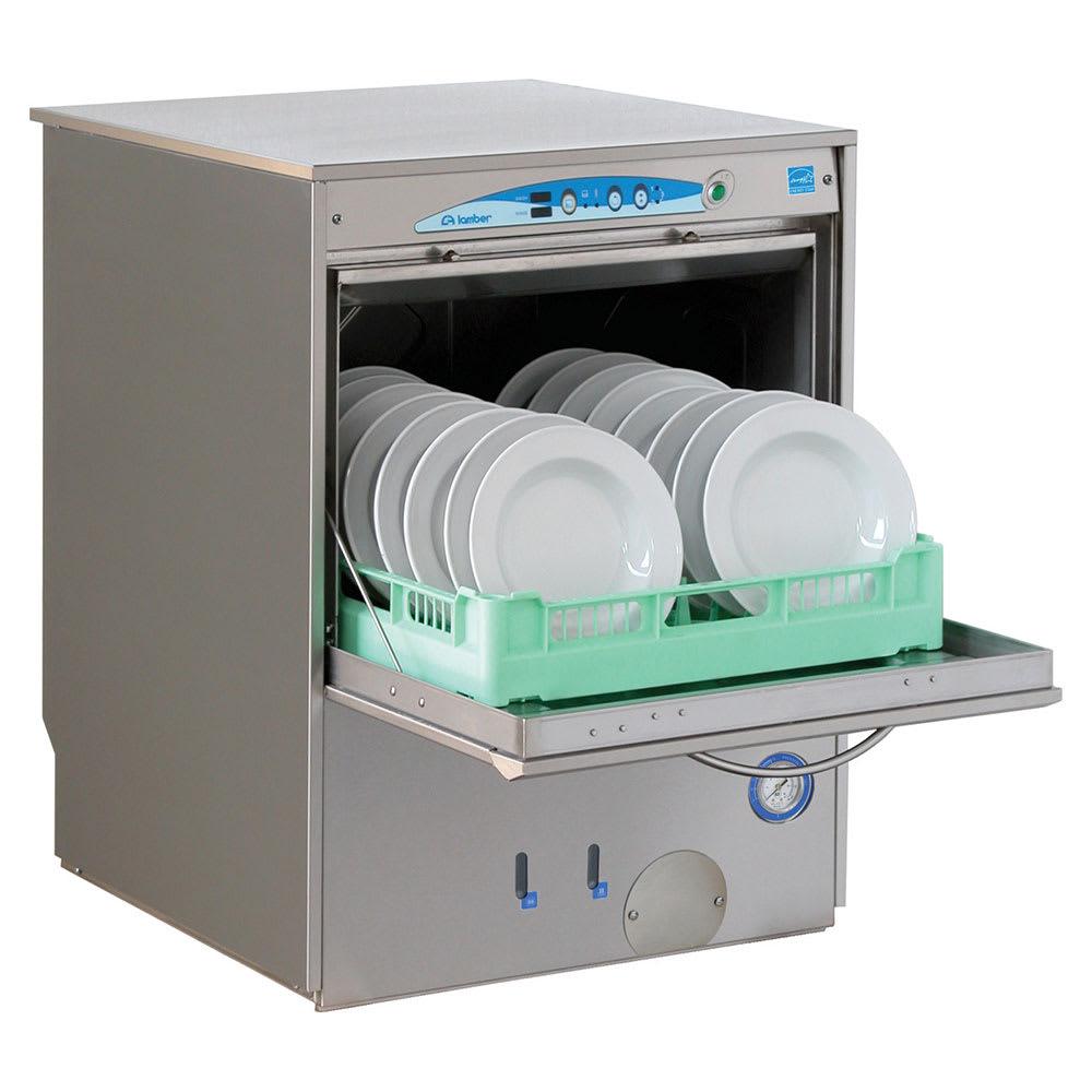 Eurodib F92EKDPS Lamber High Temp Rack Undercounter Dishwasher - (30) Racks/hr, 208-240v/1ph