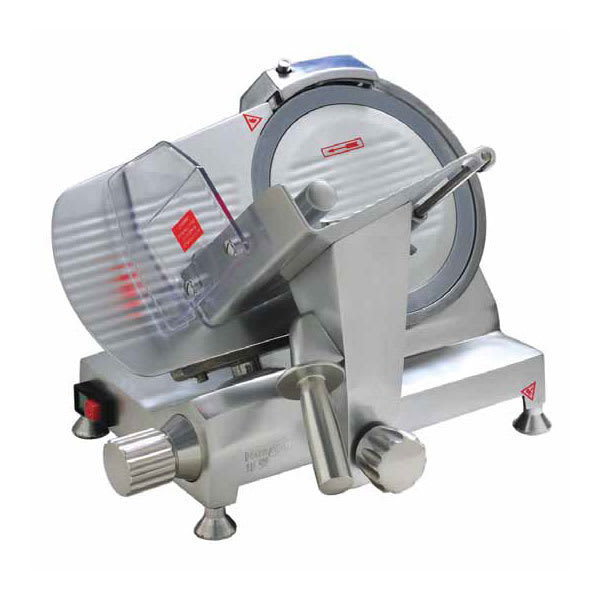"Eurodib HBS-250L Meat Slicer w/ 10"" Blade, Belt Driven & Waterproof"