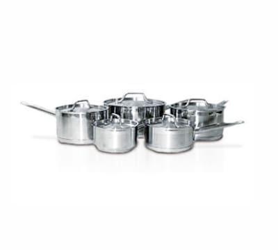Eurodib HOMSET10 10-Piece Induction Cookware Set: 5-Sauce Pans & Lids