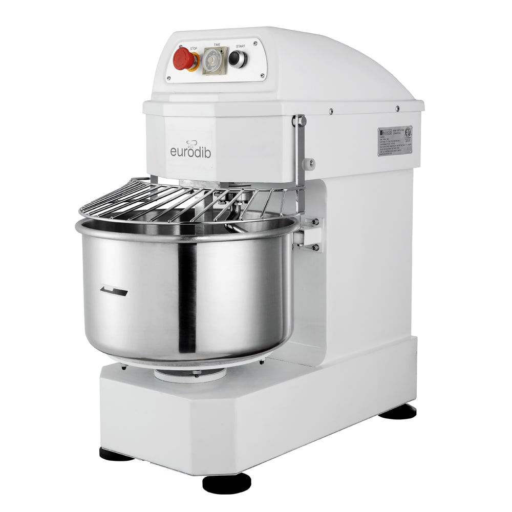 Eurodib LM30T 30-qt Spiral Mixer w/ (1) Speed, 220v/1ph