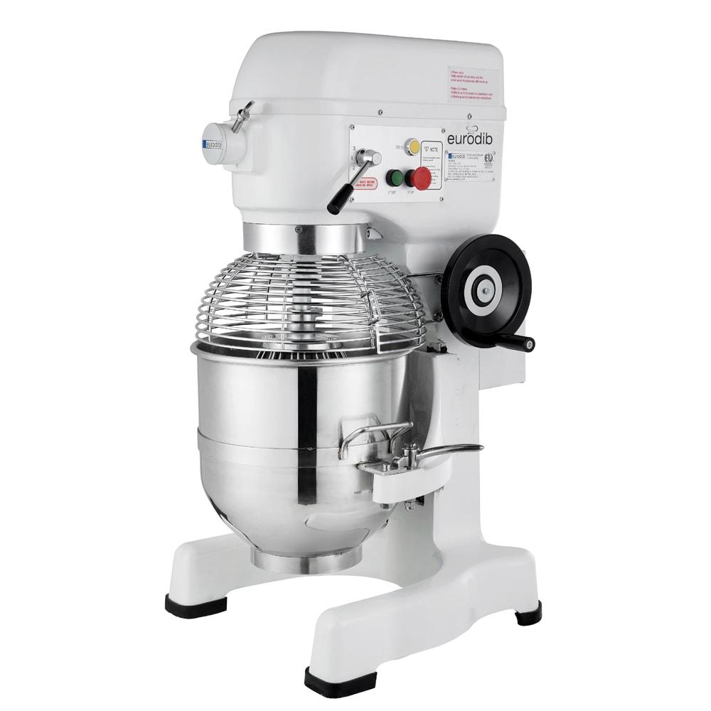 Eurodib M30ETL 30-qt Planetary Mixer w/ (3) Speeds, 110v