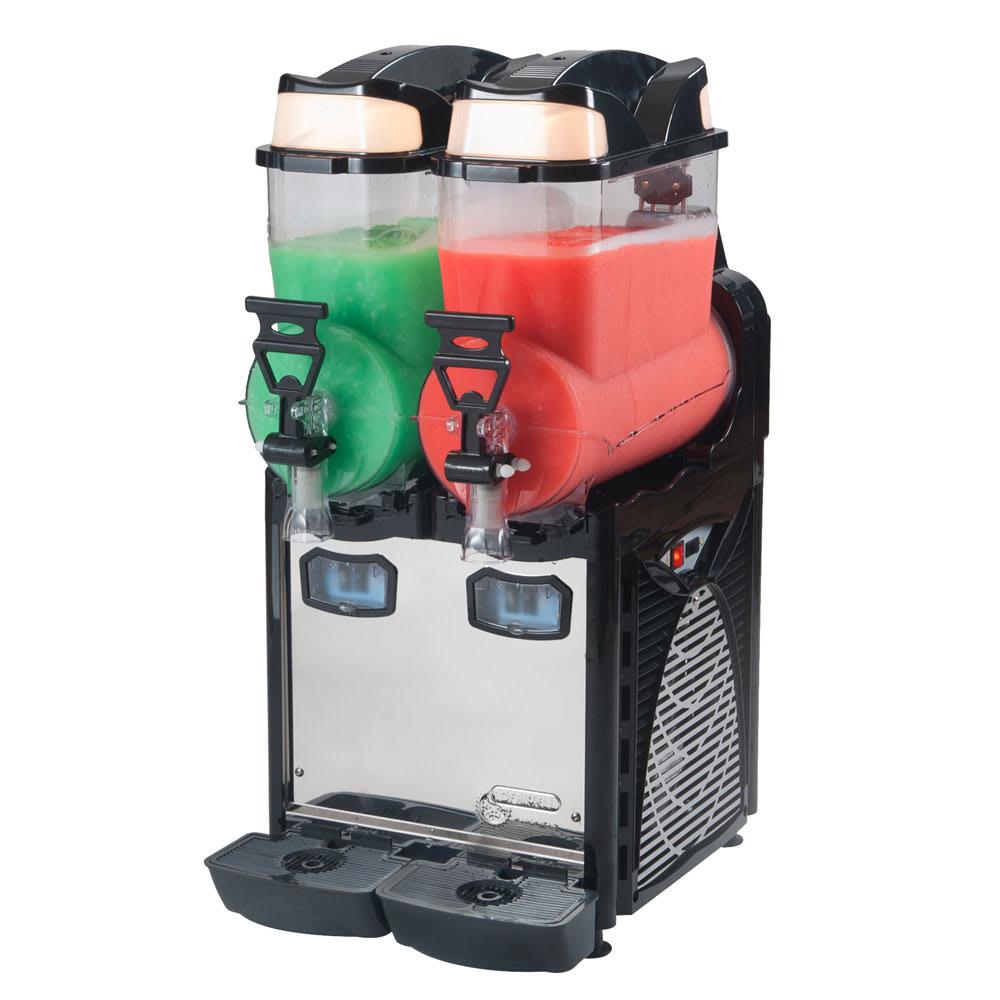 Eurodib OASIS2 Frozen Drink Machine w/ (2) 2.6 gal Hoppers, 110v