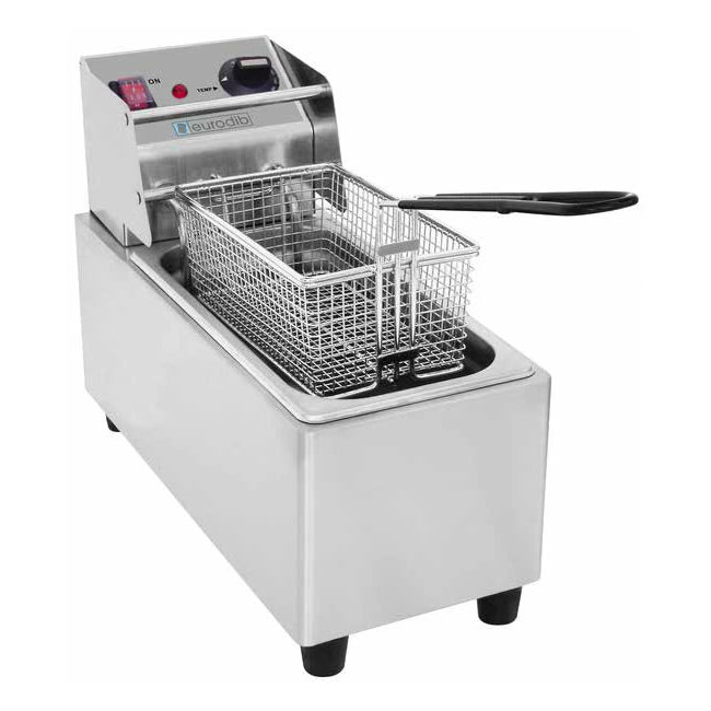 Eurodib SFE01820 Countertop Electric Fryer - (1) 6.4-lb Vat, 120v