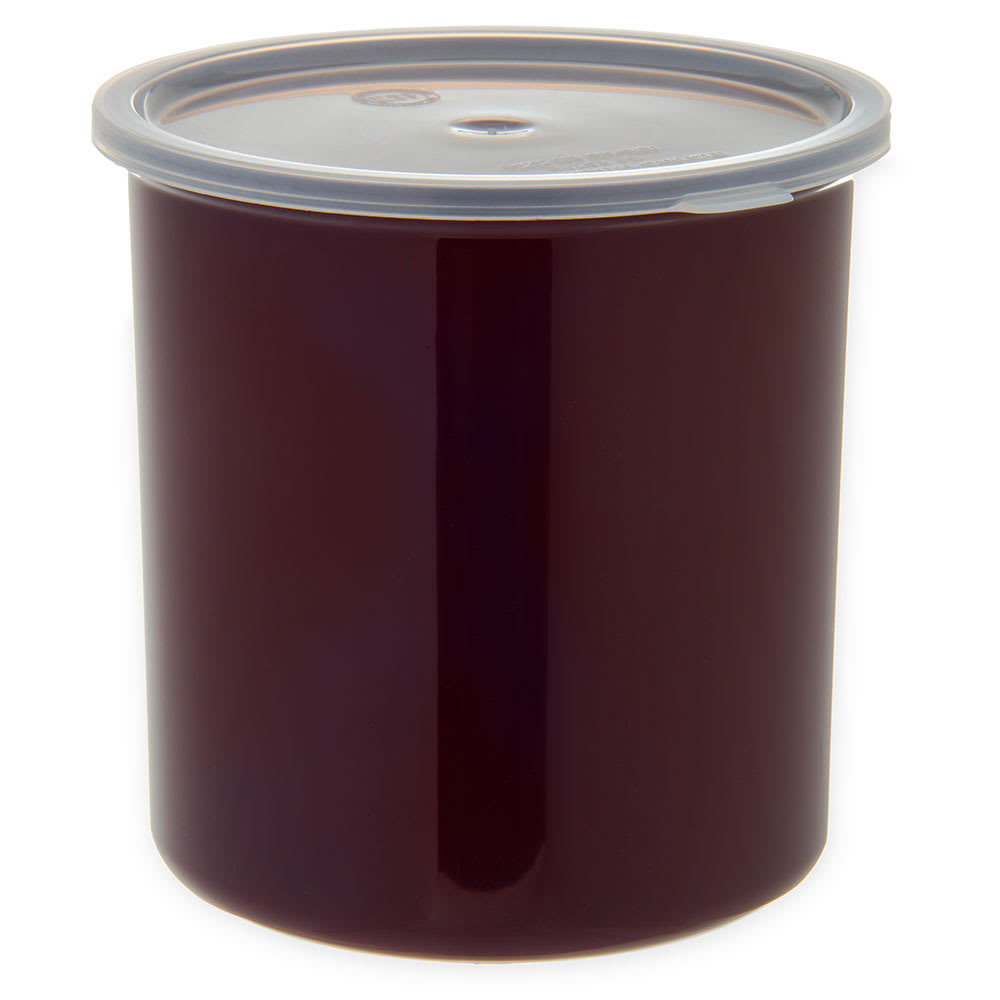 Carlisle 030201 2.7 qt Classic Crock - Snap-On Lid,  Brown