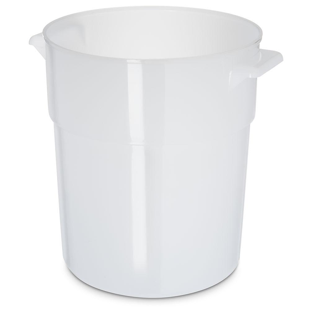 Carlisle 035002 3 1/2 qt Round Bain Marie Container - White