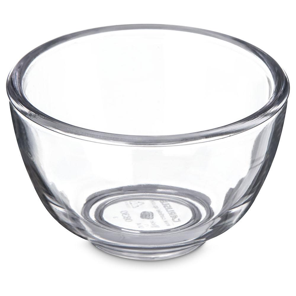 Carlisle 083007 1 oz Souffle Cup - Plastic, Clear
