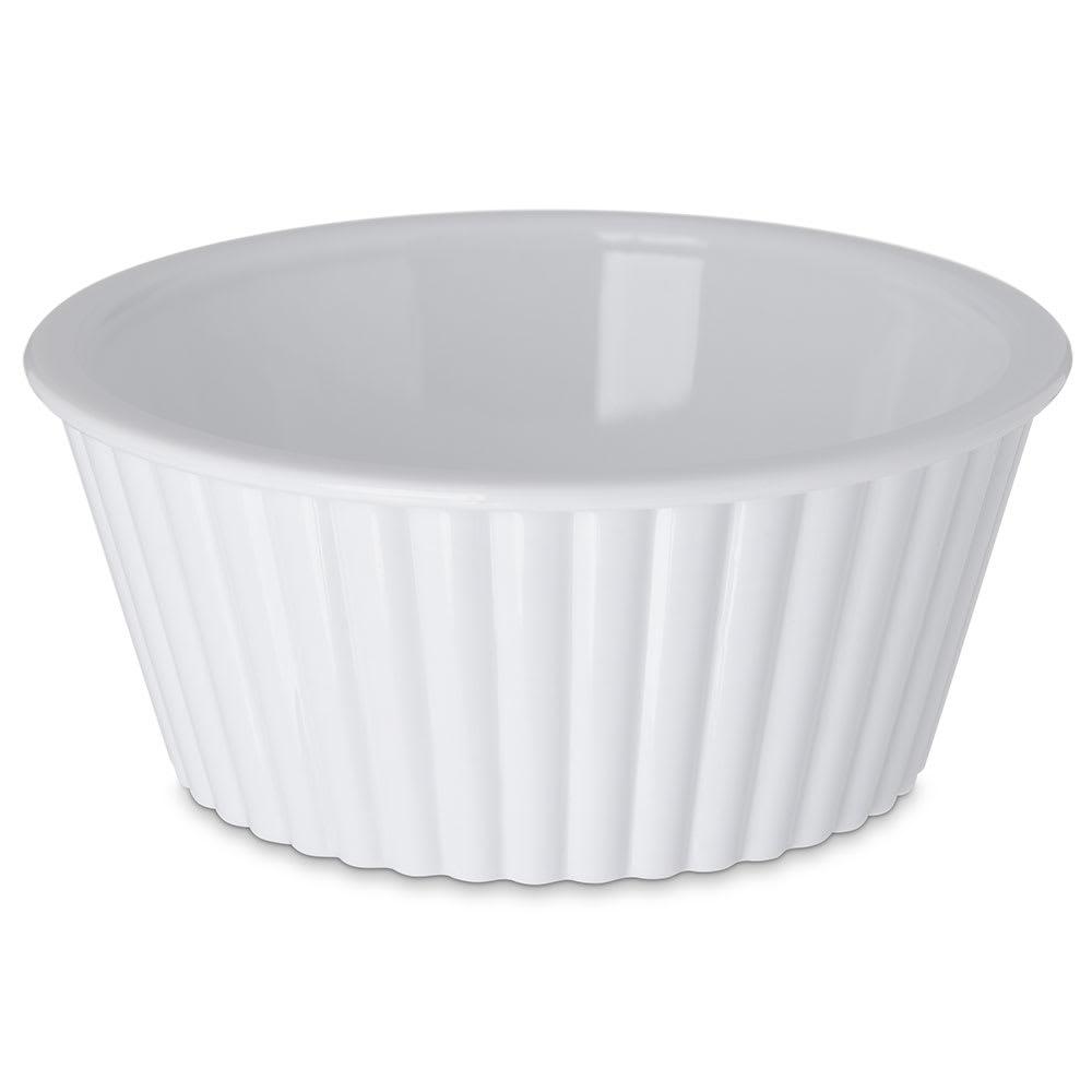Carlisle 084502 4-1/2-oz Fluted Ramekin - White
