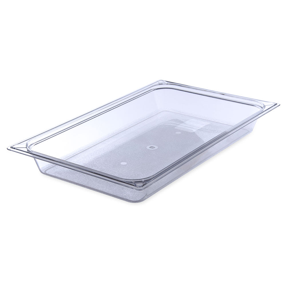 Carlisle 10200B07 Full Size StorPlus™ Food Pan w/ 7.6 qt Capacity, Clear