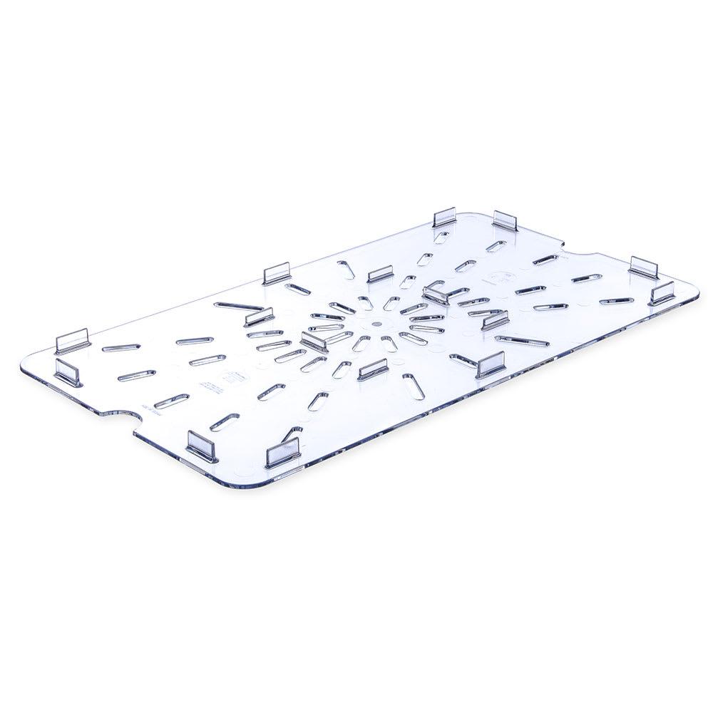 Carlisle 1021507 Full Size Drain Shelf - Clear