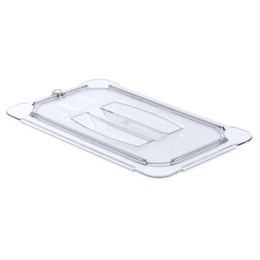 Carlisle 10290U07 Universal 1/4 Size Food Pan Solid Lid - Clear