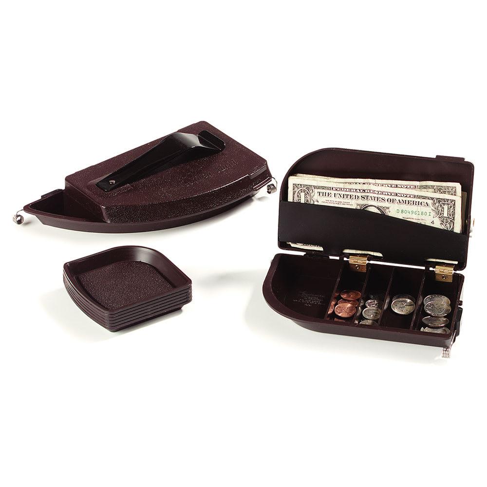 """Carlisle 103001 Money Maid Combo Pack - Rectangular, 6-7/8x4x2-1/4"""" Brown"""