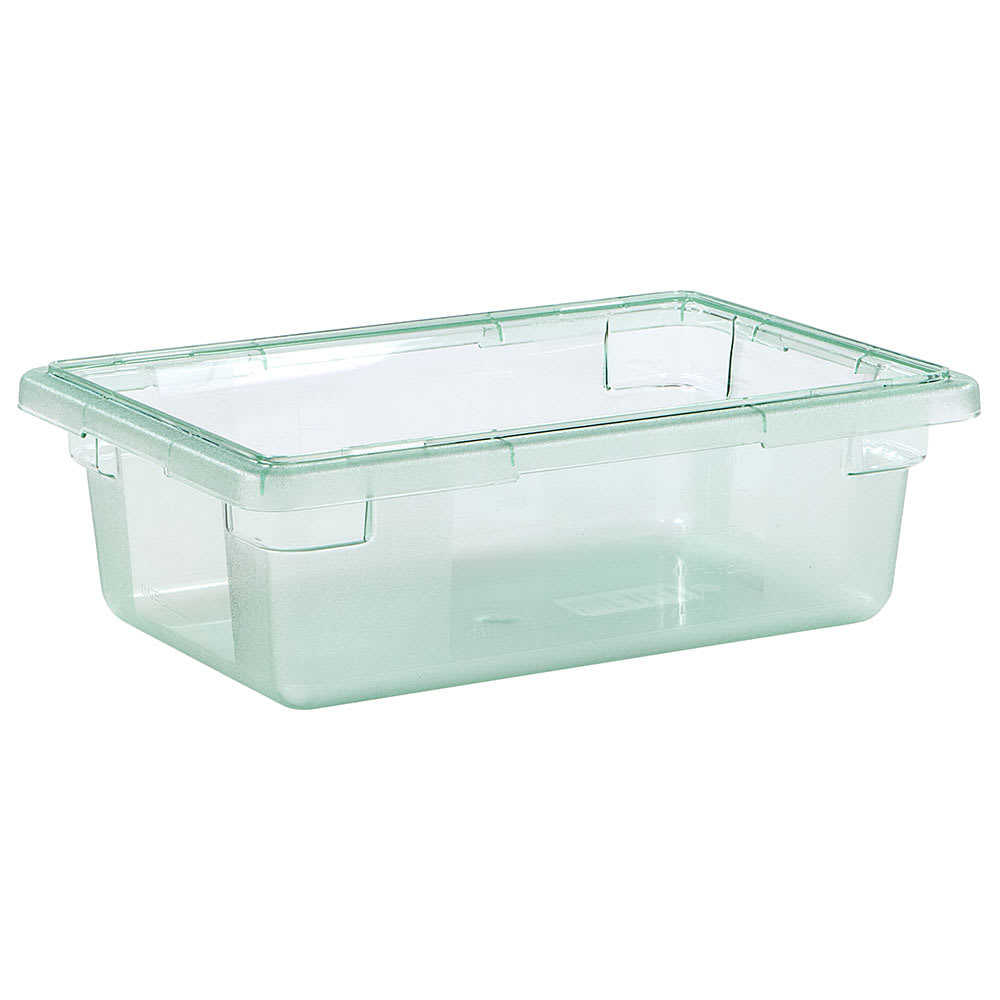 "Carlisle 10611C09 3-1/2-gal Food Storage Box - 18x12x6"" Green"