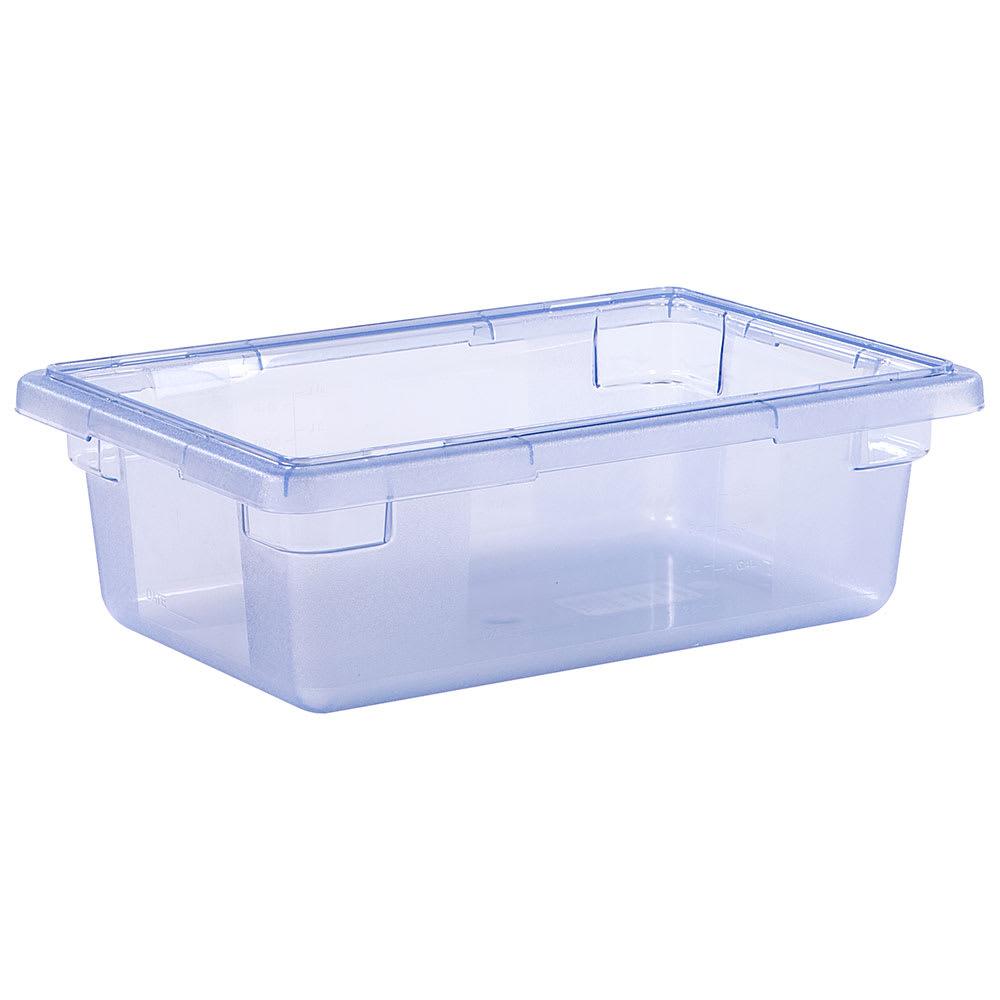 "Carlisle 10611C14 3 1/2 gal Food Storage Box - 18x12x6"" Blue"