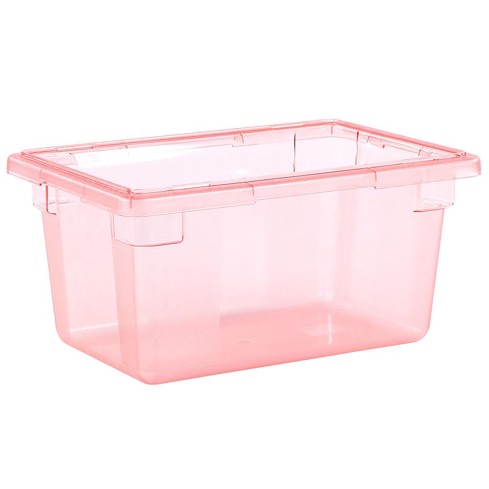 "Carlisle 10612C05 5-gal Food Storage Box - 18x12x9"" Red"