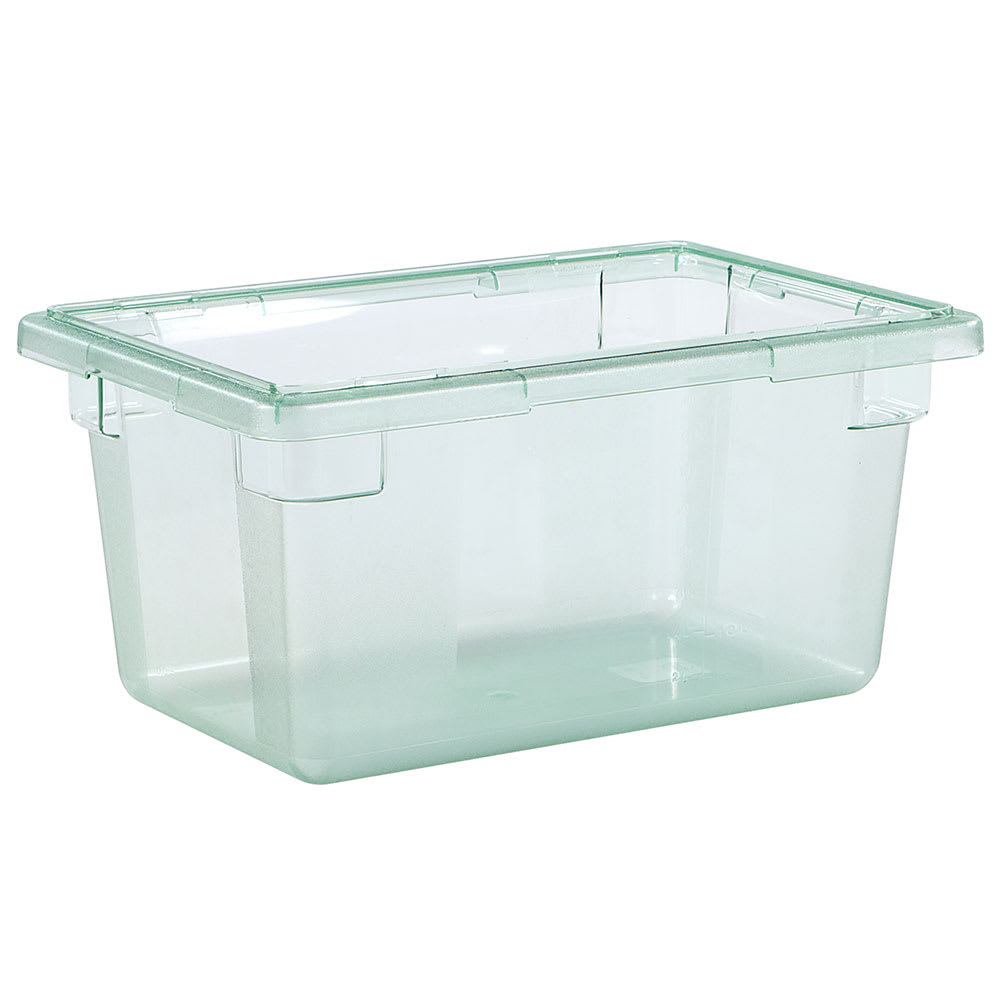 "Carlisle 10612C09 5-gal Food Storage Box - 18x12x9"" Green"