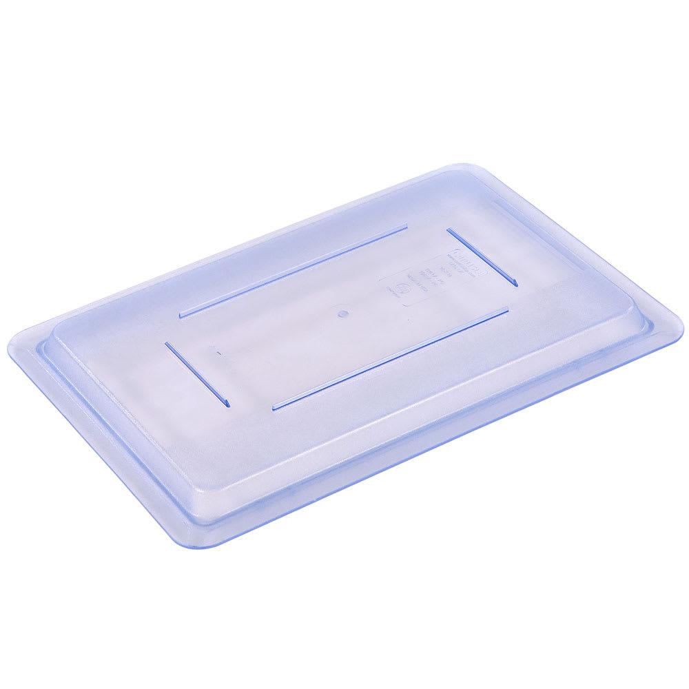 """Carlisle 10617C14 Food Storage Lid - 18x12"""" Blue"""