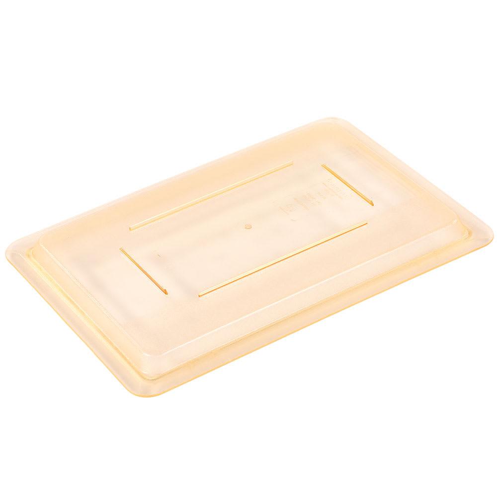 "Carlisle 10617C22 Food Storage Lid - 18x12"" Yellow"