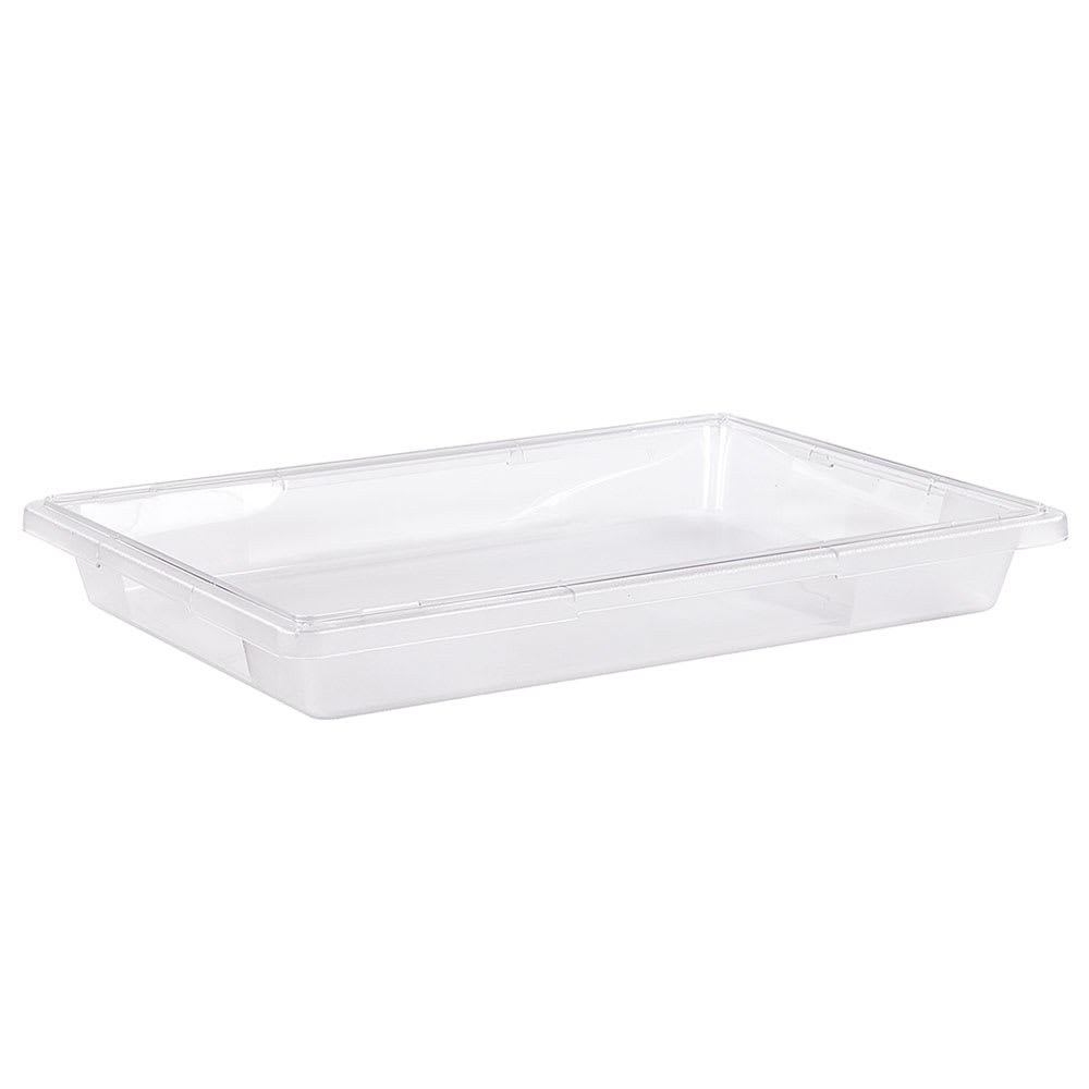 "Carlisle 1062007 5 gal Food Storage Box - 26x18x3 1/2"" Clear"