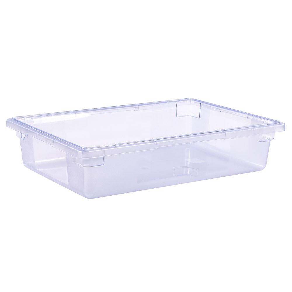 "Carlisle 10621C14 8-1/2-gal Food Storage Box - 26x18x6"" Blue"