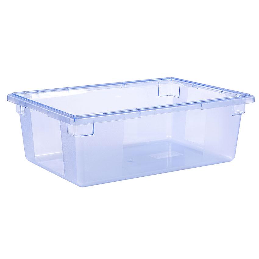 "Carlisle 10622C14 12 1/2 gal Food Storage Box - 26x18x9"" Blue"