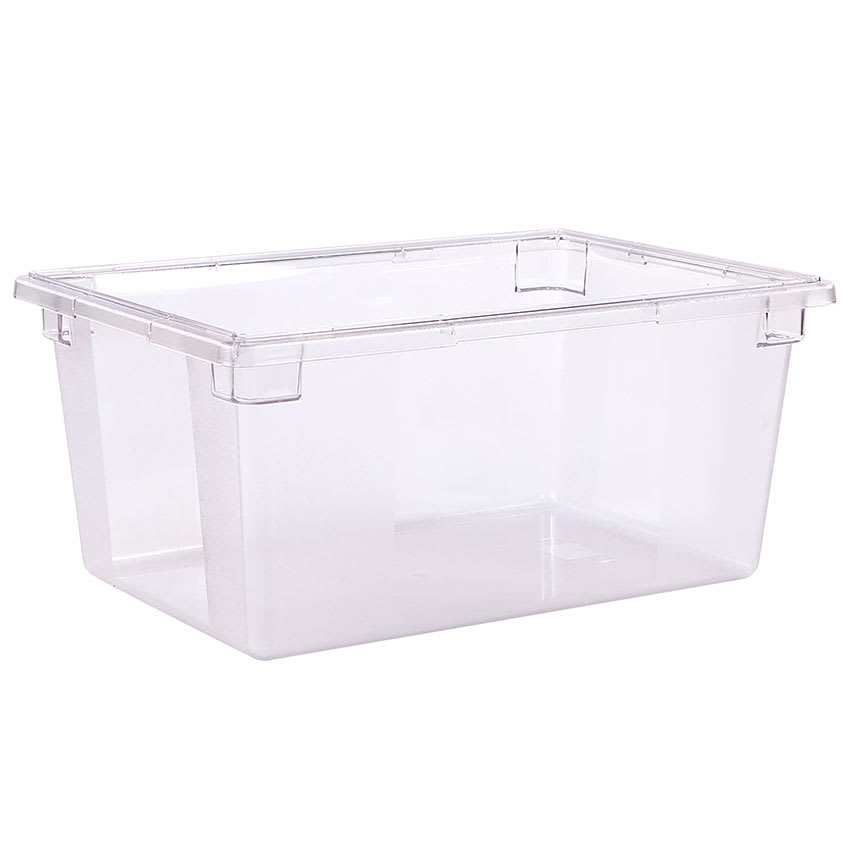 "Carlisle 1062307 16.6-gal Food Storage Box - 26x18x12"" Clear"