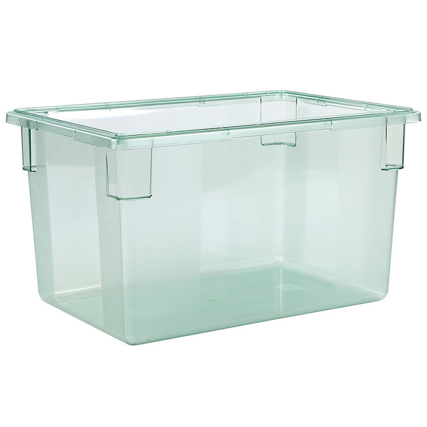 "Carlisle 10624C09 21 1/2 gal Food Storage Box - 26x18x15"" Green"