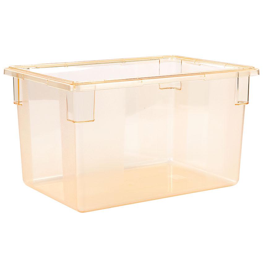 "Carlisle 10624C22 21-1/2-gal Food Storage Box - 26x18x15"" Yellow"