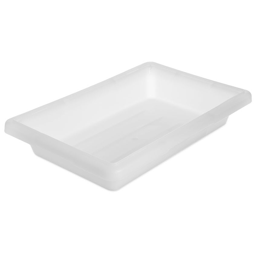 "Carlisle 1063002 2 gal Food Storage Box - 18x12x3 1/2"" White"