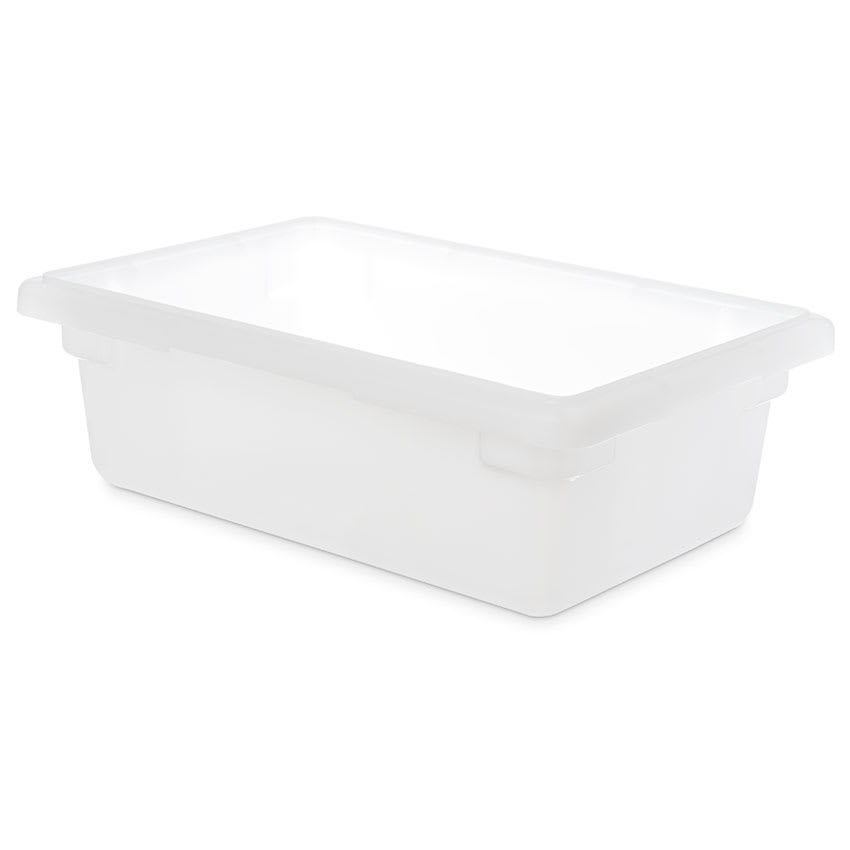 "Carlisle 1063102 3 1/2 gal Food Storage Box - 18x12x6"" White"