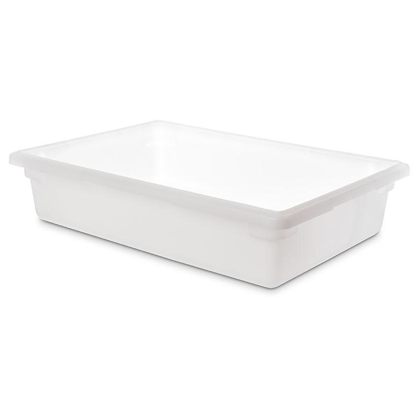 "Carlisle 1064102 8 1/2 gal Food Storage Box - 26x18x6"" White"