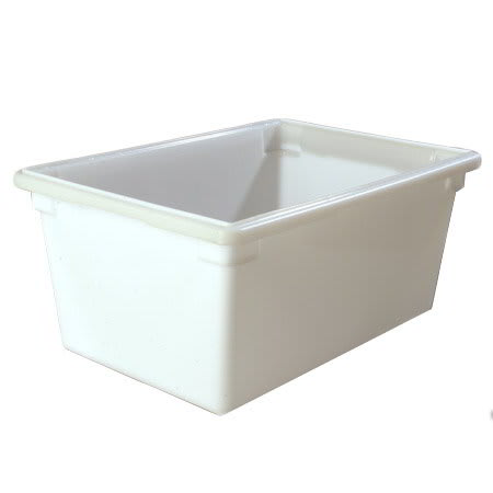 "Carlisle 1064302 16.6-gal Food Storage Box - 26x18x12"" White"