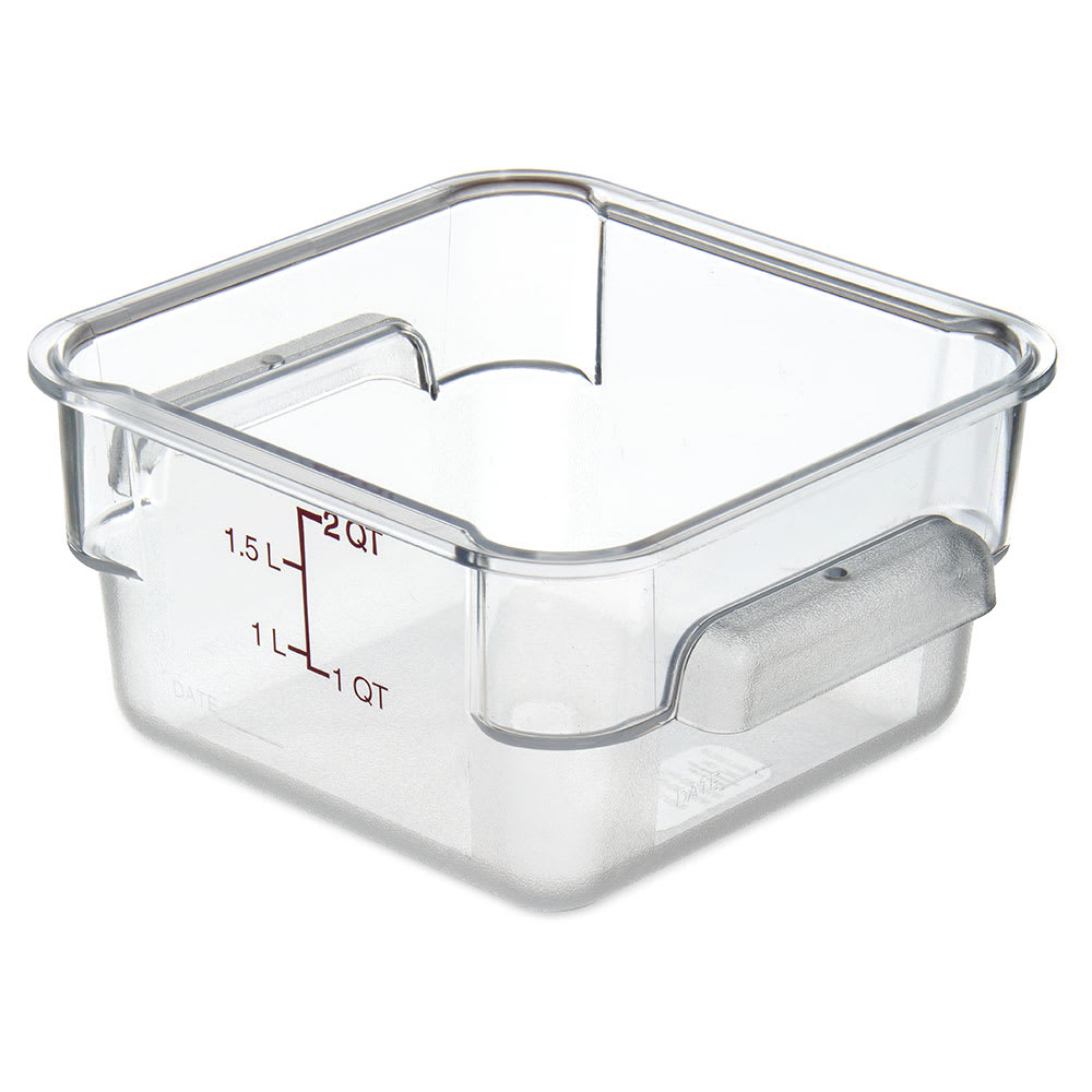 Carlisle 10720AF07 StorPlus™ Food Storage Container w/ 2 qt Container, Purple