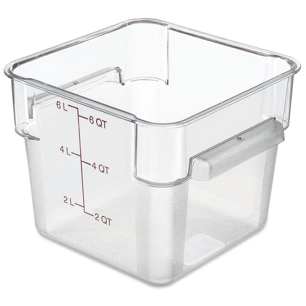 Carlisle 10722AF07 StorPlus Food Storage Container w 6 qt Capacity