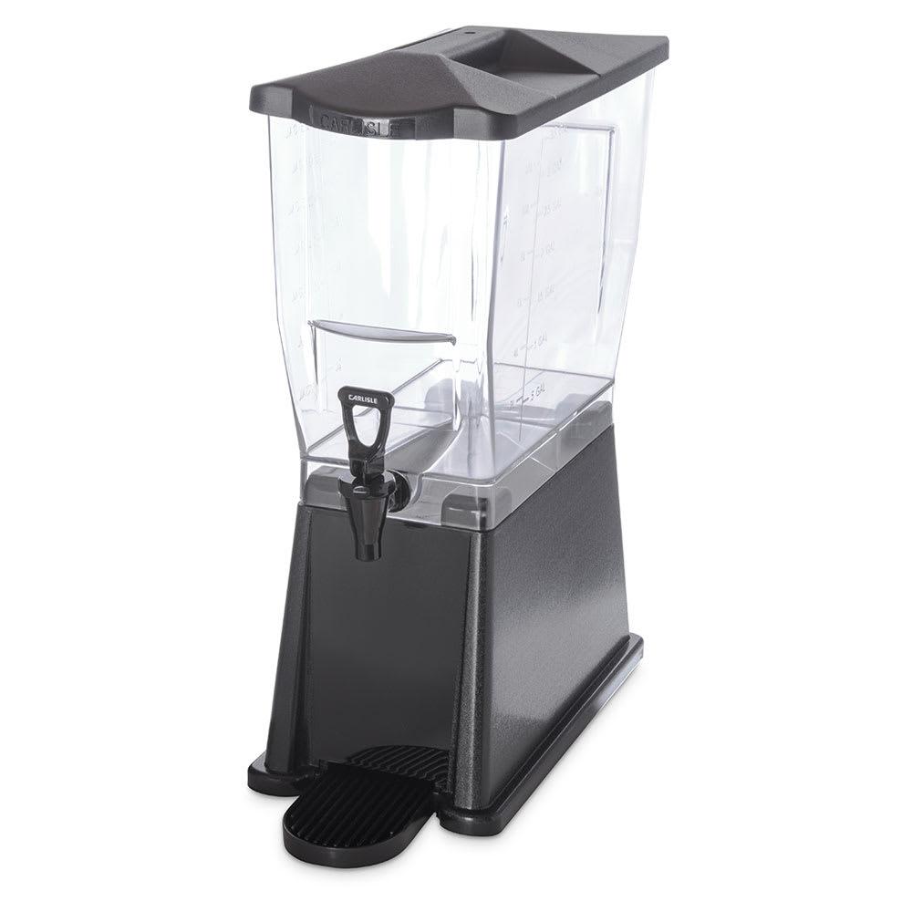 Carlisle 1085003 3 gal Premium Beverage Server - Clear/Black