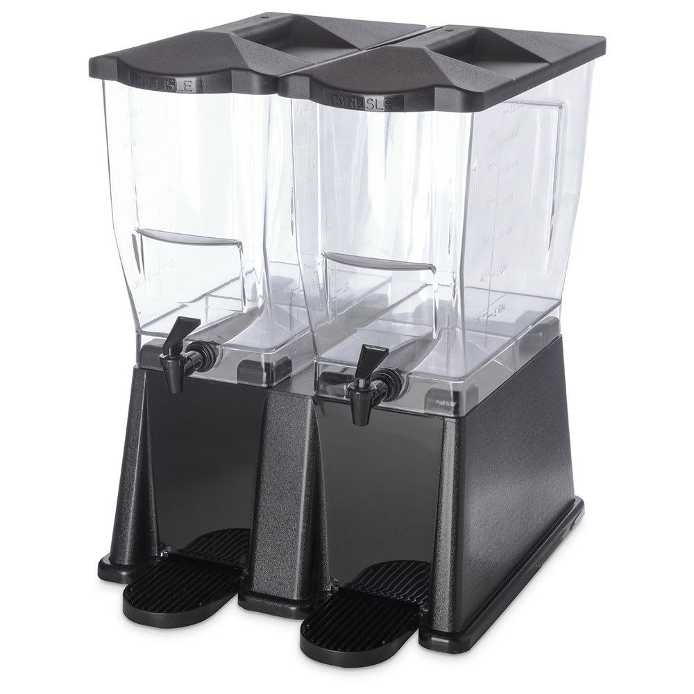 Carlisle 1085303 6 gal Economy Beverage Server - Clear/Black