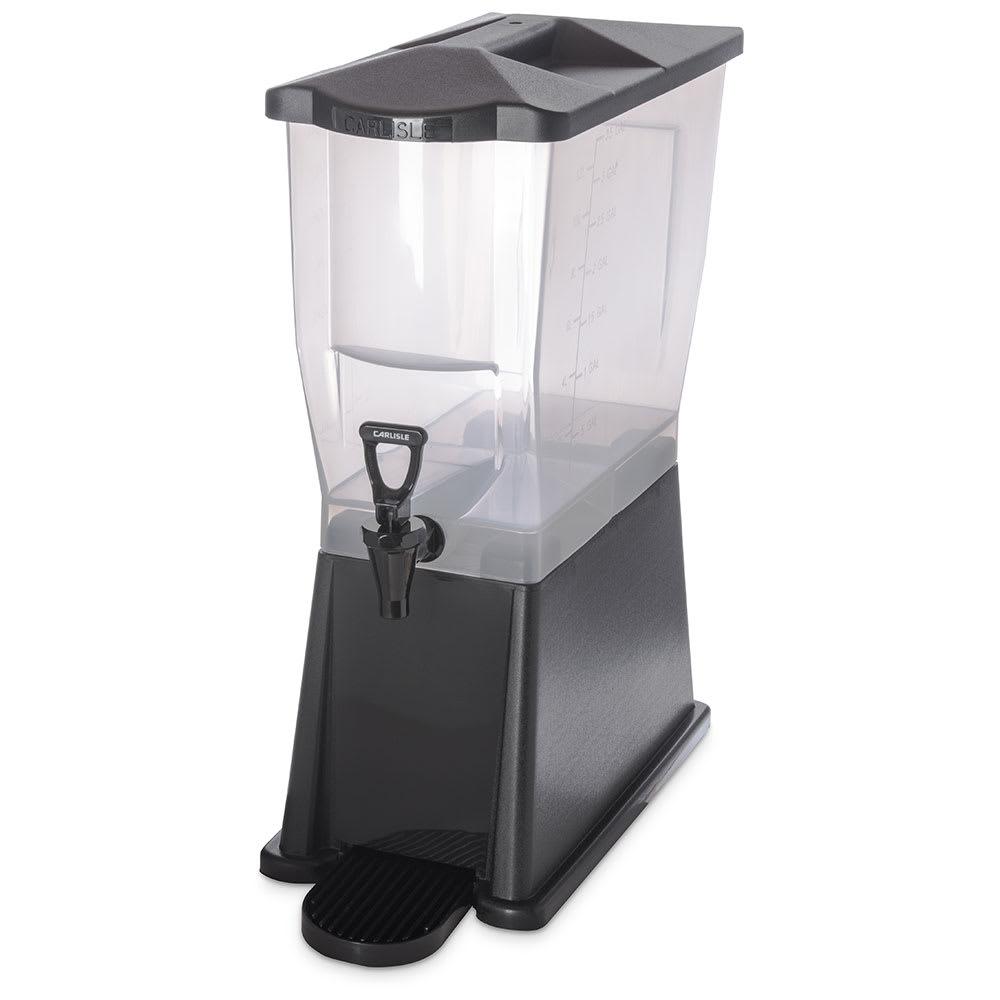 Carlisle 1085403 3 gal Premium Beverage Server - Translucent/Black