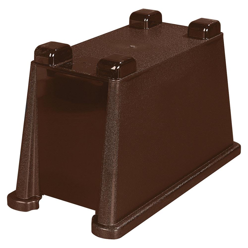Carlisle 1086669 Single Beverage Dispenser Base - Polycarbonate, Brown