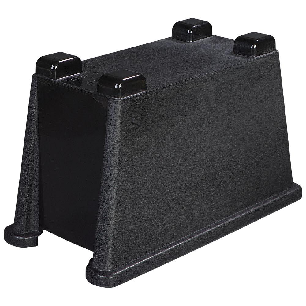 Carlisle 1086803 Single Beverage Dispenser Base - Polypropylene, Black