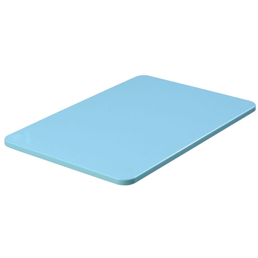 """Carlisle 1088214 Poly Cutting Board - 12x18x1/2"""" Blue"""