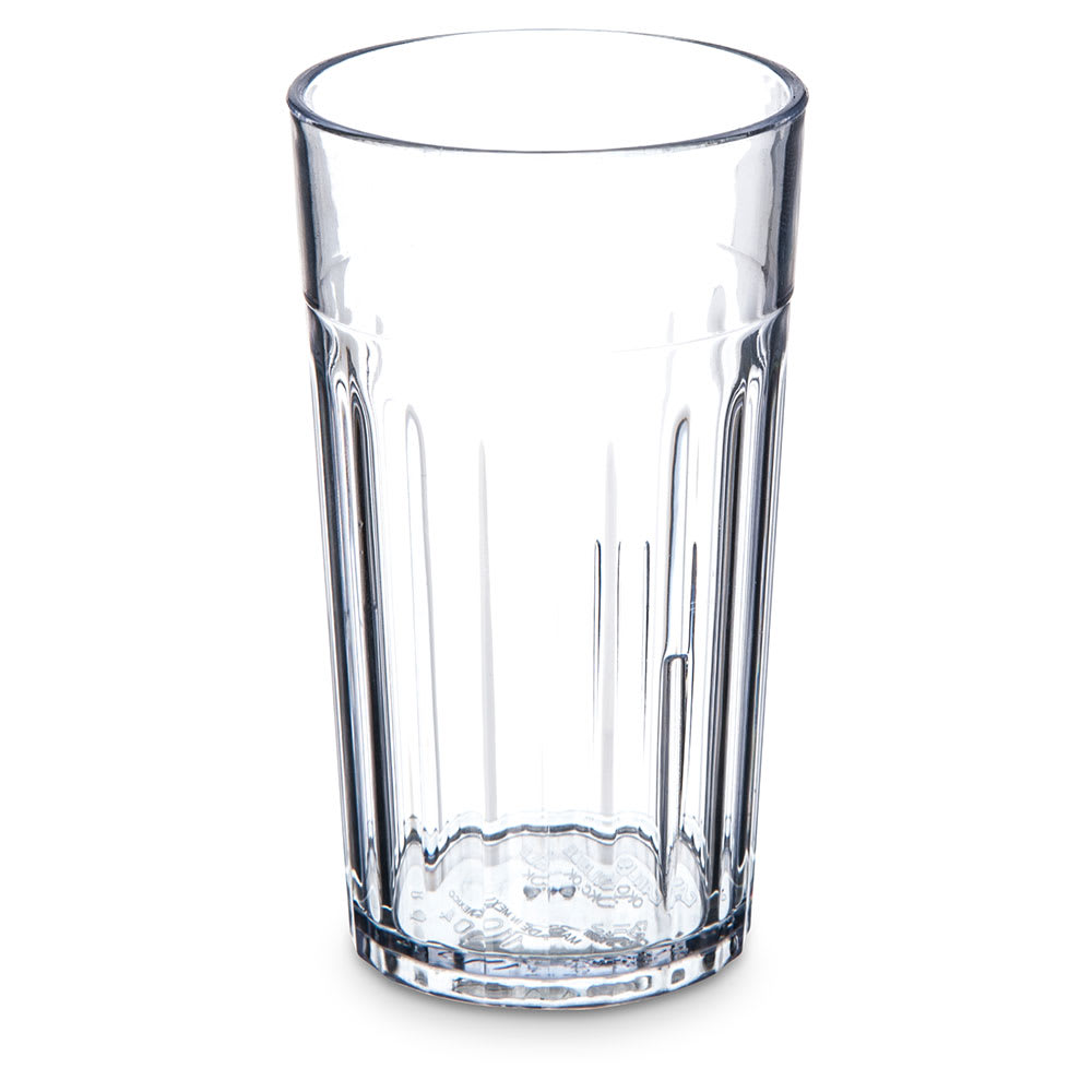 Carlisle 110407 4 oz Bistro Tumbler - Fluted, Clear