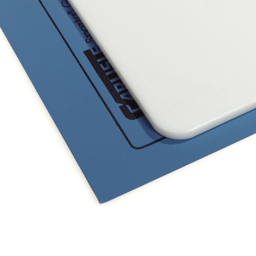 """Carlisle 1180114 Cutting Board Mat - 13x18"""" Carlisle Blue"""