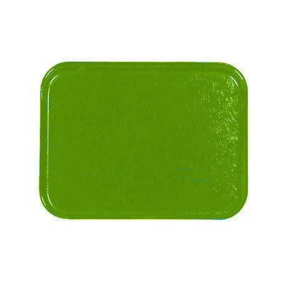 Carlisle 1212FG009 Rectangular Cafeteria Tray - 32.5x26.5cm, Lime