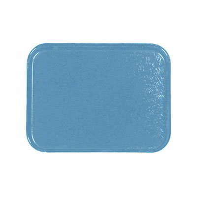 Carlisle 1212FG012 Rectangular Cafeteria Tray - 32.5x26.5cm, Sea Spray