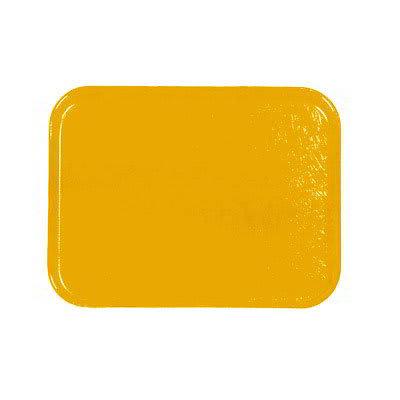 Carlisle 1212FG023 Rectangular Cafeteria Tray - 32.5x26.5cm, Gold
