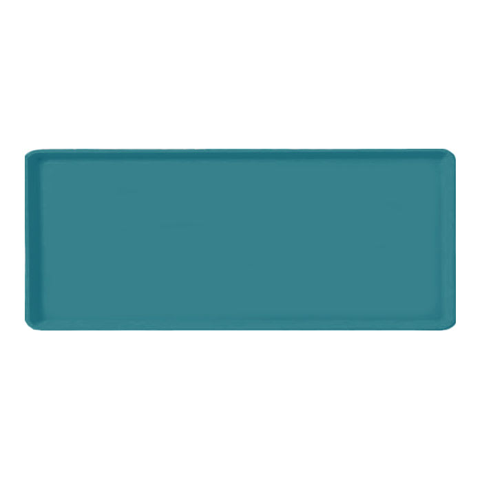 "Carlisle 1219LFG006 Rectangular Cafeteria Tray - 19x12"" Ultramarine"