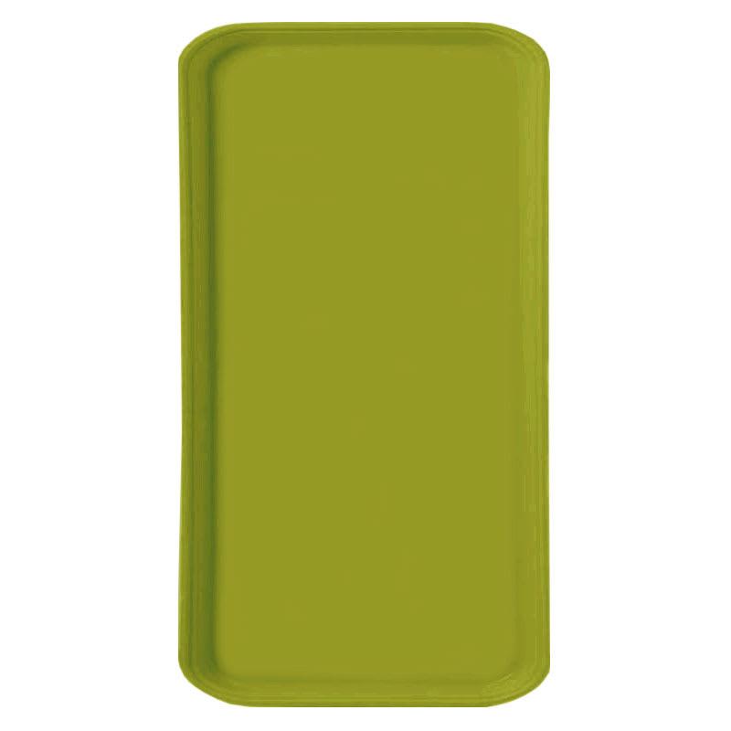 Carlisle 1220FG008 Rectangular Cafeteria Tray - 53cmx32.5cm, Avocado