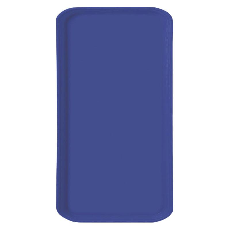 Carlisle 1220FG014 Rectangular Cafeteria Tray - 53cmx32.5cm, Cobalt Blue